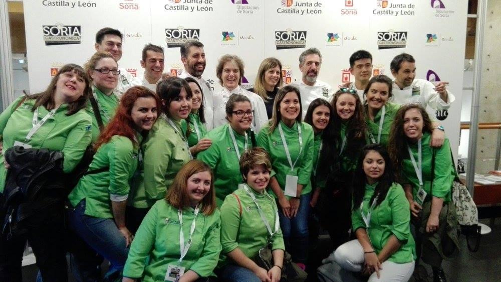 La escuela de direcci n de cocina en el v congreso soria - Direccion de cocina ...