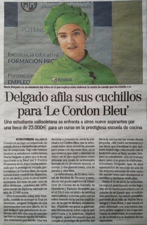 Periódico Nuria DeLGADO